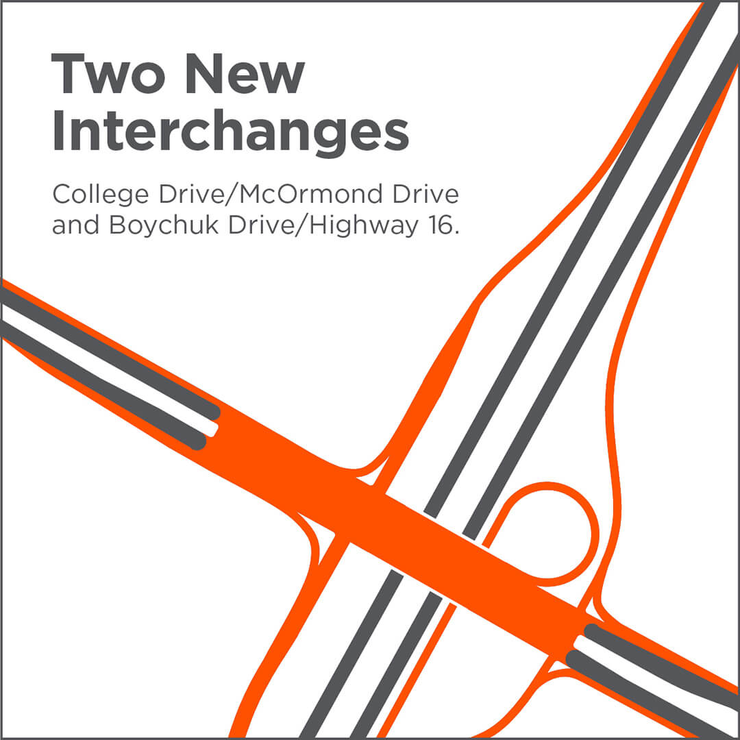 Two new interchanges