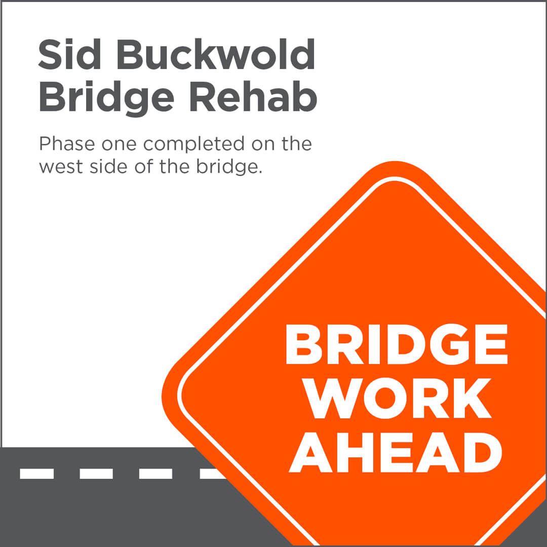 Sid Buckwold Bridge rehabilitation