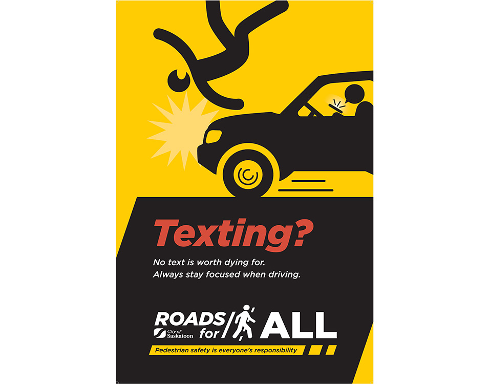 Always stay focused while driving and never text and drive.