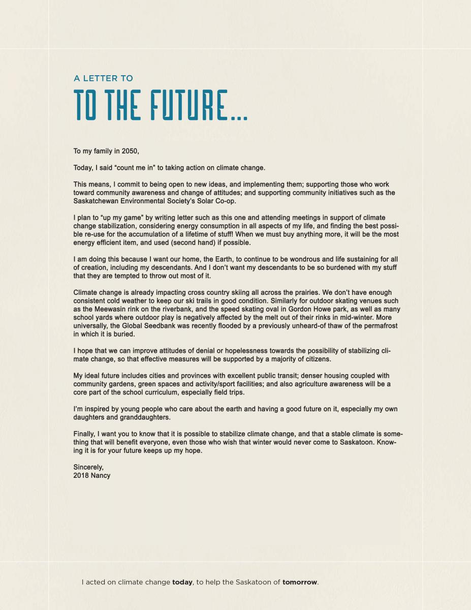 letter about climate change climate change saskatoon ca 7306