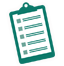 Standards clipboard icon