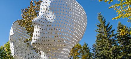 A public sculpture