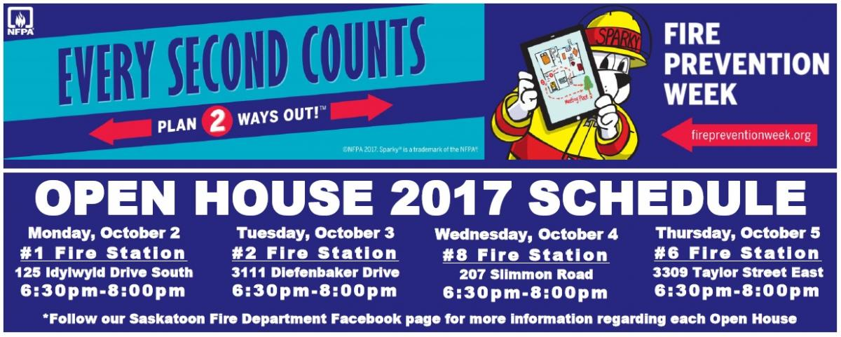 Fire Prevention Week 2017 information
