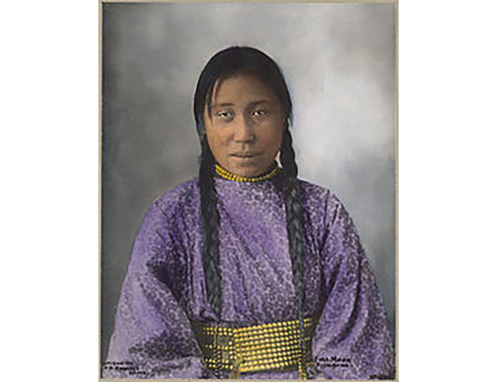Full Moon, Nakoda Woman 1900