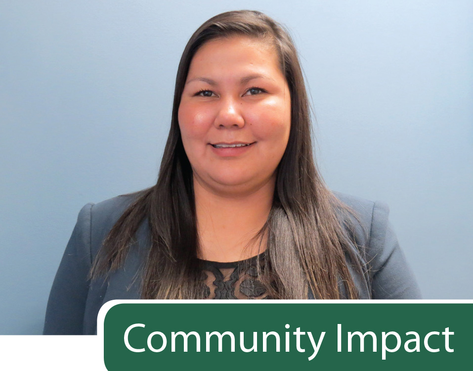 Alicia Worm-Littlewolfe, Aboriginal Program Coordinator