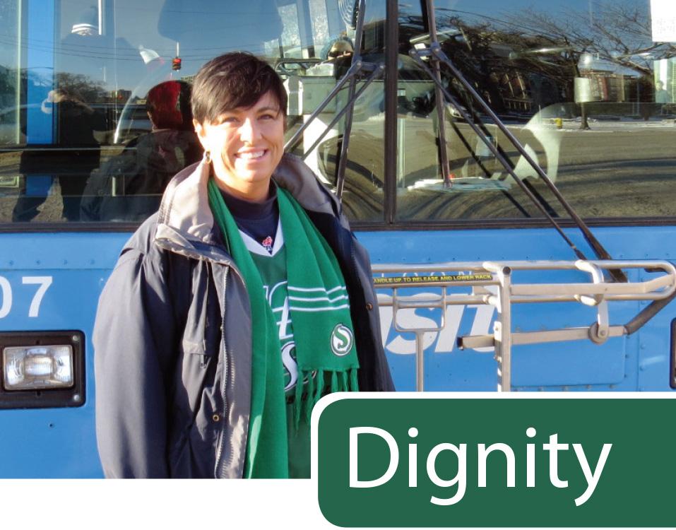 Dawn Crawford, Transit Operator