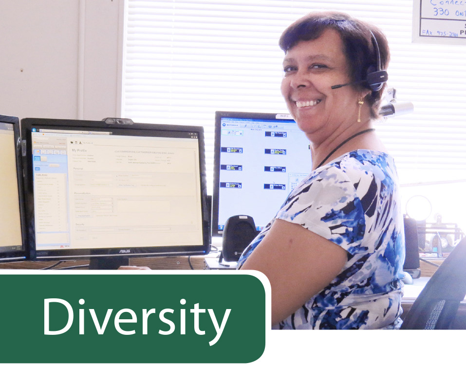 Jessica Ertell, Customer Service Representative, Public Works Divisi