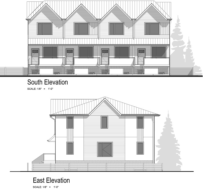 Building Elevation - South East