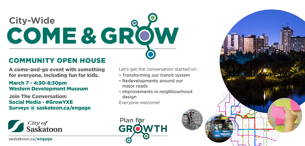 Come and Grow Event Ad March 7 2018