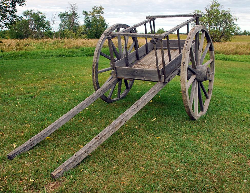 Red River Cart, Batoche